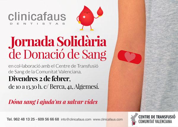 donación de sangre en clinicafaus