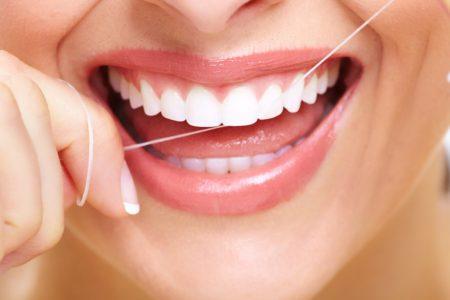 higiene dental como usar el hilo dental